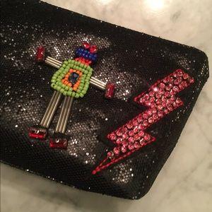 NWT Betsey Johnson 🤖 Makeup Bag